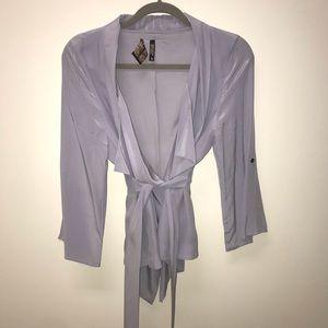Yumi Kim Silk Wrap Jacket